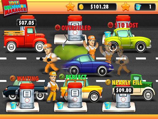 idle gas station manager: fuel factory tycoon screenshot 3