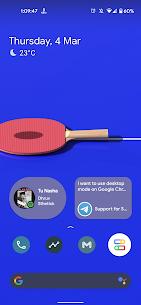 Notification Widget (Android 12 wallpaper based) Mod Apk v1.3 1