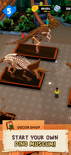 Dino Quest 2: Jurassic bones in 3D Dinosaur World apktreat screenshots 2