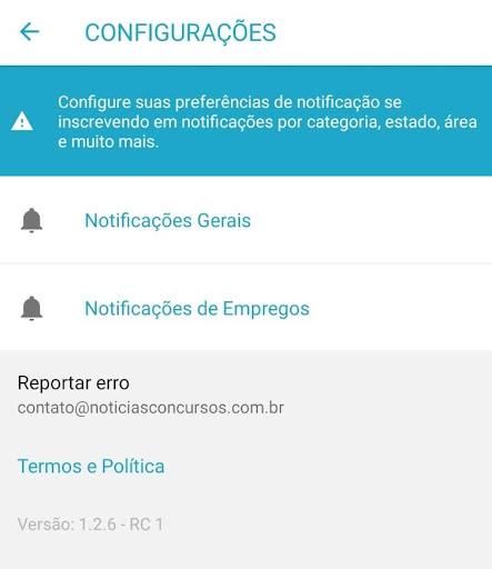 Notu00edcias Concursos android2mod screenshots 1