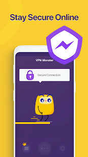 Unlimited Free VPN Monster - Fast Secure VPN Proxy Screenshot