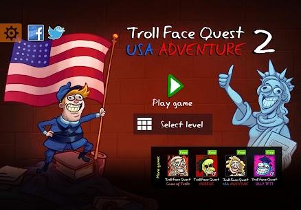 Troll Face Quest  USA Adventure 2 Apk Download 2021 1