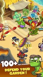 Zombie Defense – Plants War – Merge idle games Mod Apk (Unlimited Diamonds) 2