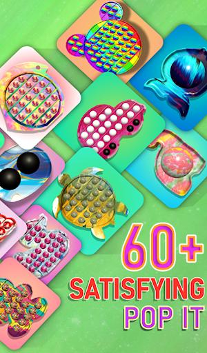 Pop it fidget toy 2! DIY calming asmr popers game apkpoly screenshots 10