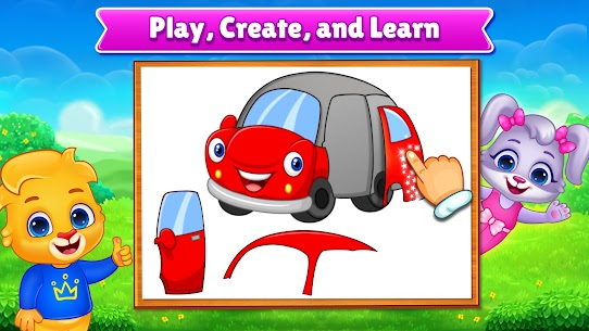 Puzzle Kids – Animals Shapes and Jigsaw Puzzles 3