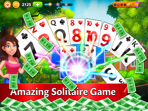 Solitaire Garden - TriPeaks Story 1.8.1 screenshots 6