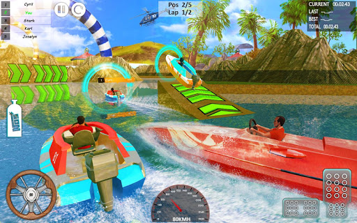 Xtreme Boat Racing 2019: Speed Jet Ski Stunt Games screenshots 21