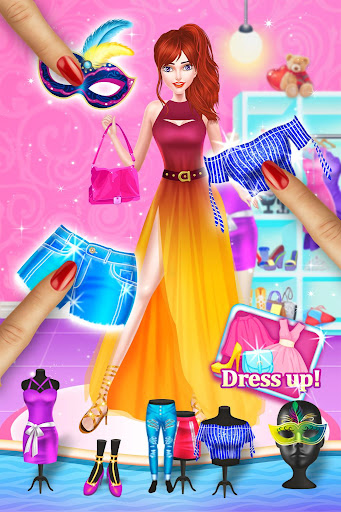 New Year Evening Party 2021 Fashion Doll Salon screenshots 8