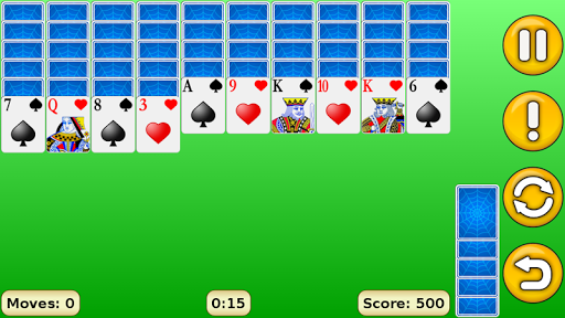 Spider Solitaire 1.18 Screenshots 1