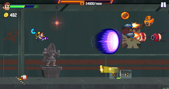 Jetpack Joyride 2: Bullet Rush Screenshot