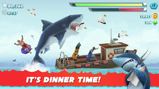 Hungry Shark Evolution - Offline survival game  screenshots 1