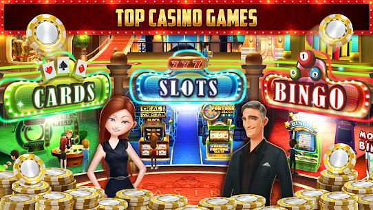 GSN Grand Casino  Free Slots, Bingo  Card Games Apk Download NEW 2021 5