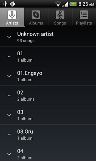Default Music Player  Screenshots 2