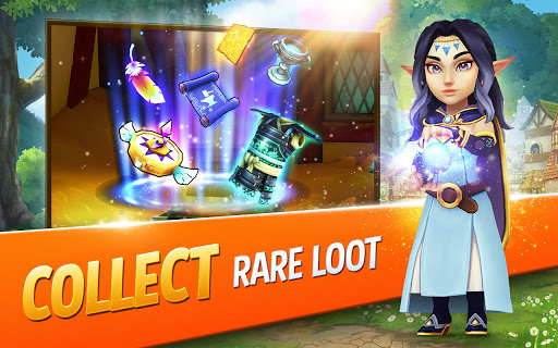 Shop Titans: Epic Idle Crafter, Build & Trade RPG apktram screenshots 9