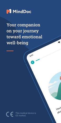 MindDoc: Your Mental Health Companion android2mod screenshots 1