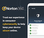 screenshot of Norton 360