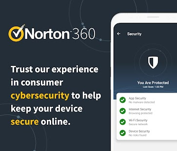 Norton™ 360: Online Privacy & Security Screenshot