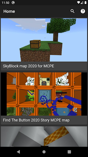 Maps for Minecraft android2mod screenshots 1