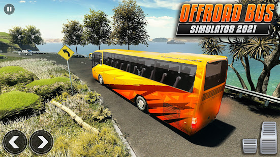 Offroad Bus Driving Simulator: New Bus Games 2021 1.0.4 screenshots 1