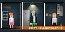 Mr. Hitman - Slayer Shoot 'em up Puzzlerのおすすめ画像1