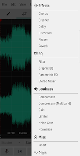 WaveEditor for Android™ Audio Recorder & Editor 5