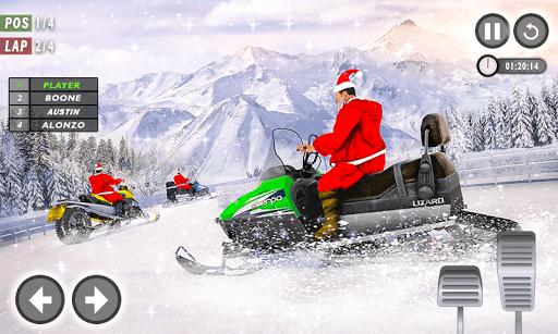 Santa Atv Snow Bike Racing 2020 : Quad Bike Race 1.1 Screenshots 1