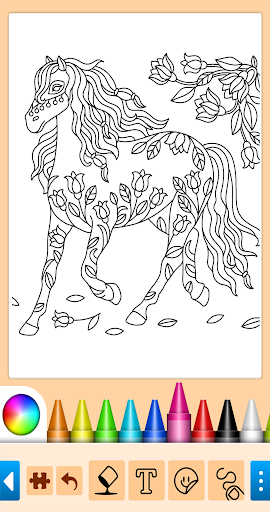 Coloring game for girls and women 15.1.4 screenshots 9