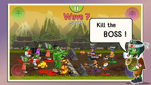 Four guys & Zombies (four-player game) 1.0.2 screenshots 6