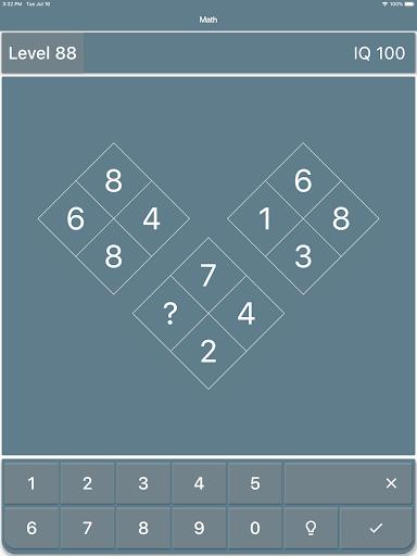 Math Riddles: IQ Test  screenshots 10