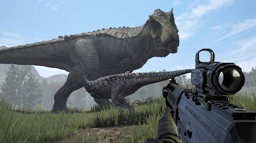 Dino Hunter - Wild Jurassic Hunting Expedition apklade screenshots 1