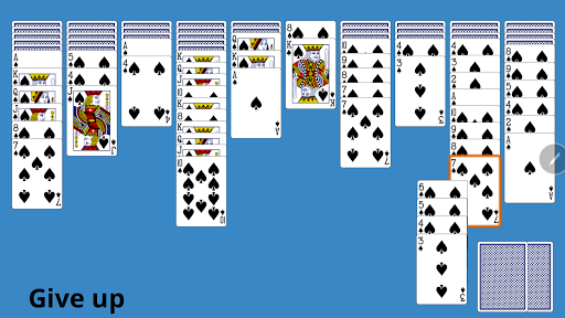 Classic Spider Solitaire 4.8 screenshots 3