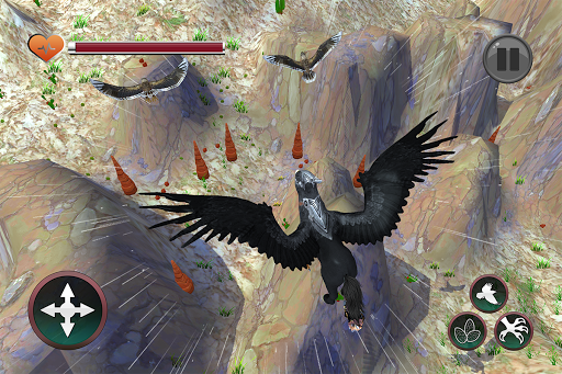Wild Griffin Family Flying Eagle Simulator  screenshots 7
