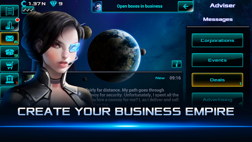 Idle Space Business Tycoon 2.0.15 screenshots 1