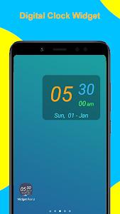 Digital Clock Widget v2.2