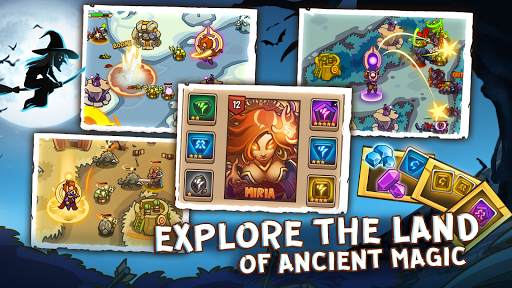 Empire Defender TD: Tower Defense The Fantasy War Varies with device screenshots 18