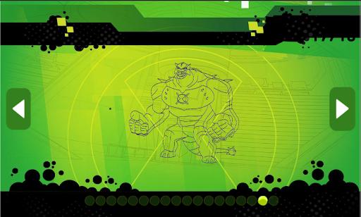Ben Coloring 10 Heros Ultimate  Screenshots 7