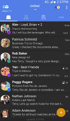 TypeApp mail - email app android2mod screenshots 4