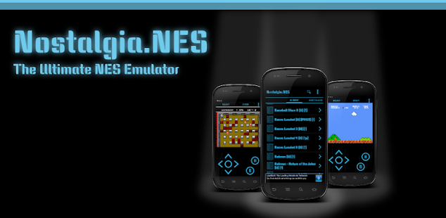 Скриншот №1 к Nostalgia.NES Pro NES Emulator