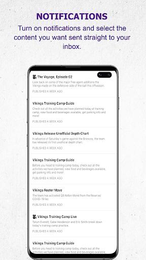 Minnesota Vikings Mobile android2mod screenshots 6