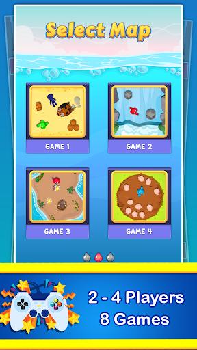 Stickman Cartoon Survival : 1 - 4 Players screenshots 1