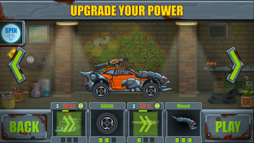 Max Fury - Road Warrior: Car Smasher screenshots 2