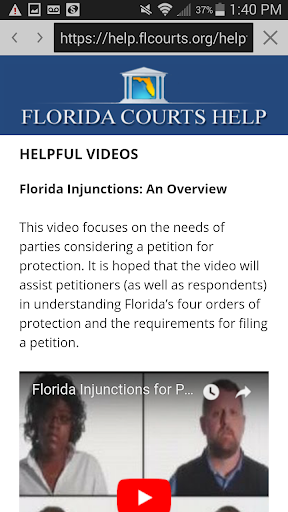 Florida Courts Help  screenshots 4