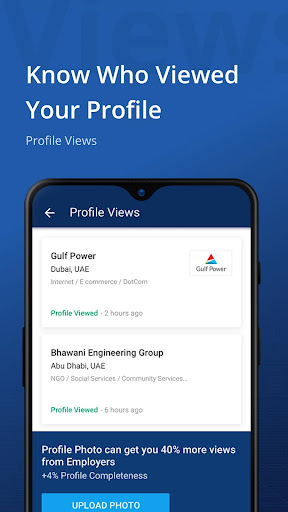 Naukrigulf- Career & Job Search App in Dubai, Gulf 4.0 Screenshots 8