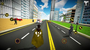 Super Speed Flying Hero Games : Rescue Survival