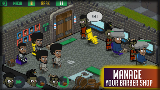 Barberhood - Barber shop Hair Cut Game  screenshots 6