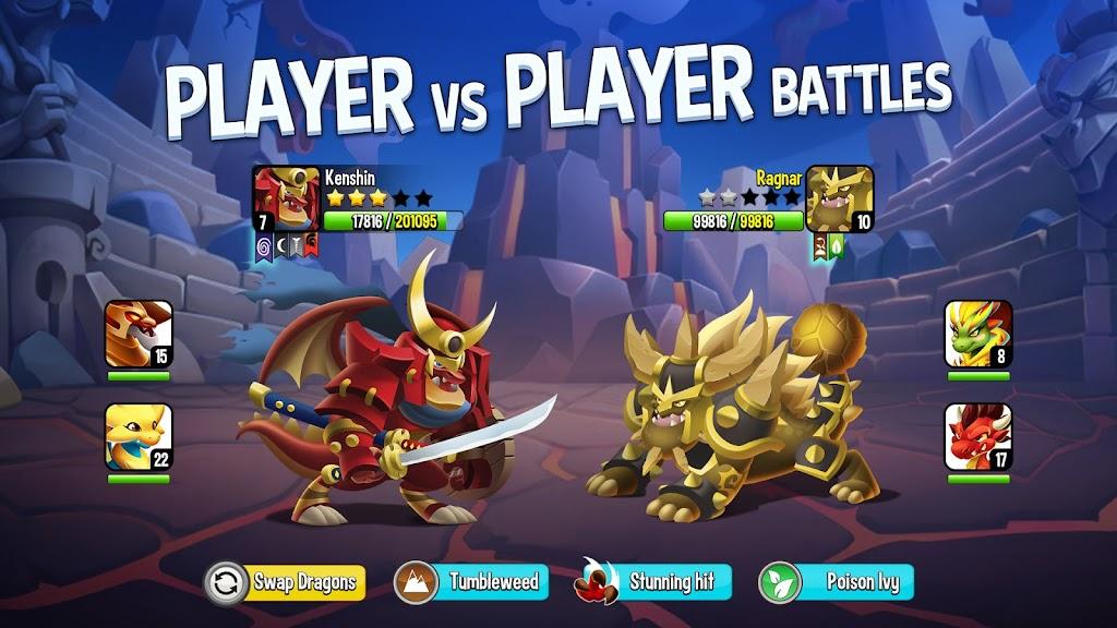 Dragon City Mobile poster 1