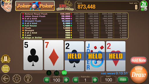 King Video Poker Multi Hand 02.00.19 screenshots 16