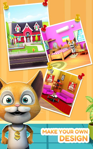 Cat Run Simulator 3D : Design Home screenshots 4