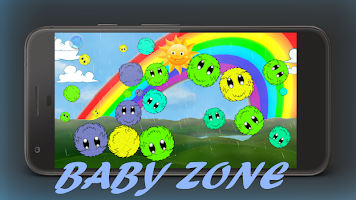 Baby Zone - Keep your toddler busy and lock phone