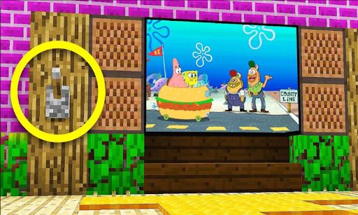 Working TV Decoration Furniture Mod MC PE 3.9 screenshots 2